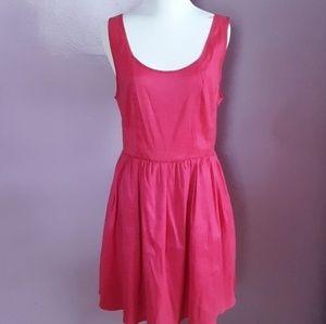 Forever21 Fuchsia hot pink a-line dress